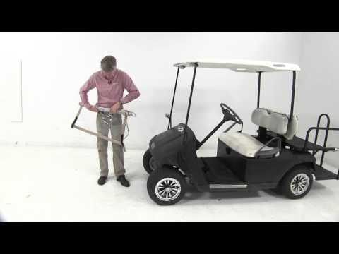Etrailer | classic accessories deluxe portable windshield for golf carts review