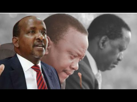 """""""you can't sit in your houses and partition this country!"""" aden duale mocks raila and uhuru"""