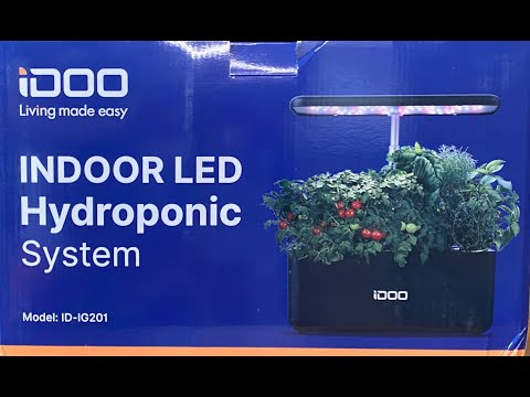 Unboxing an idoo indoor hydroponic system!