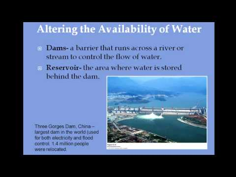 Apes chapter 9 water resources