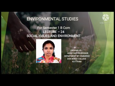 Lecture – 24-environmental studies (urban problems related to energy) for b.com sem - 1
