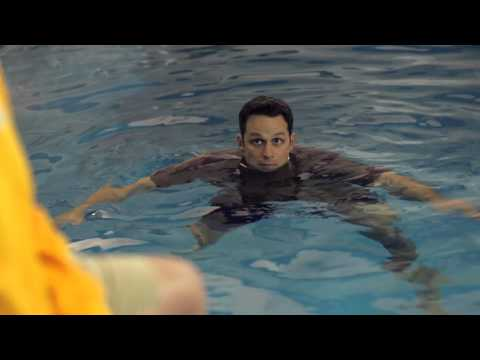Navy skills for life – water survival training – treading water