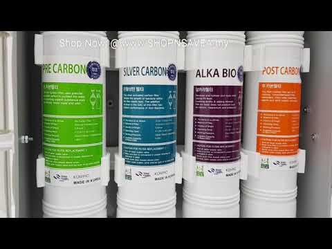 Korea purisys halal certified water purification system korea water purifier