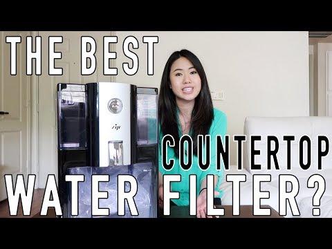 The best countertop water filter? | zip reverse osmosis alkaline water purifier review | part 1