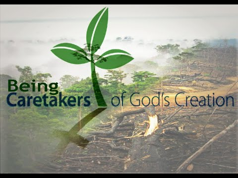 Creation care: why should we care about environmental issues?