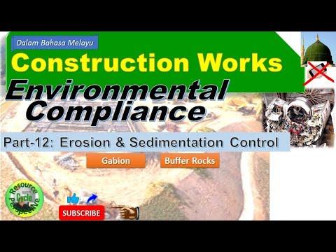Construction works part-12 esc buffer rocks & gabion. environmental compliance