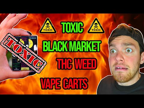 Fake thc carts that contain toxic chemicals - what to vape instead (in illegal states)