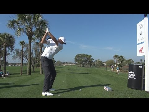 Nick watney - 2014 fairway wood golf swing dtl regular & slow motion 1080p hd