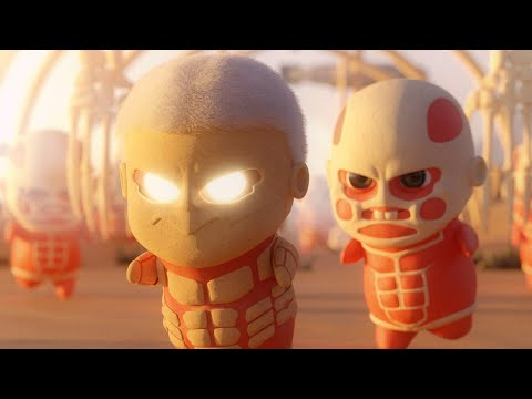 Chibi titans 2 - the wumbling | attack on titan animation