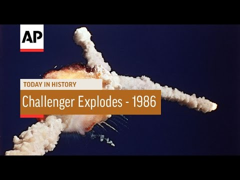 Space shuttle challenger explodes - 1986   today in history   28 jan 17
