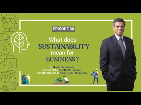 What does sustainability mean for businesses? | episode 30