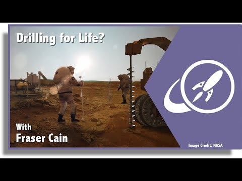 Open space 90: could we drill for life on mars? and more...