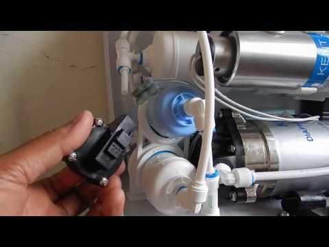 R.o. stops due to low water pressure, reverse osmosis system, r.o.