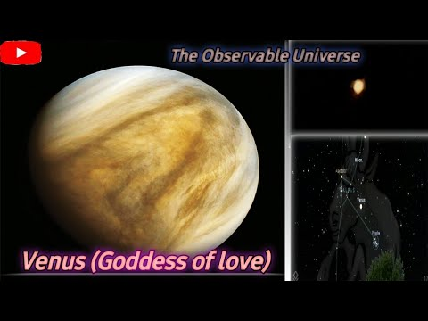Venus through my telescope / the goddess of love /astromaster 130eq//the observable universe //