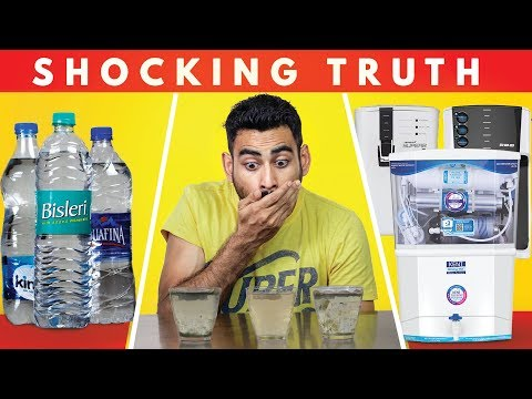 The truth about mineral water & the best water purifier in india