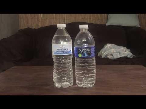 Jon drinks water #4693 pureau purified water vs member's mark sam's club purified water