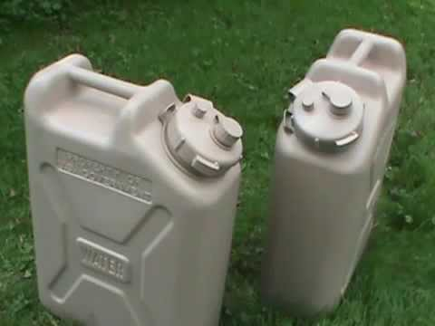 Lc industries military water can