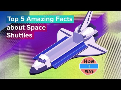 Top 5 amazing facts about space shuttles