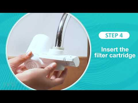 How to install ivo faucet mounted water purifier