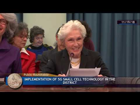 Scientists warn of health effects: washington dc council 5g small cell roundtable