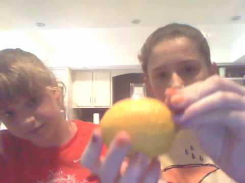 How to create electricity with a lemon!!!