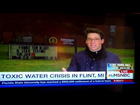 Flint michigan: six day old water vs. day old water