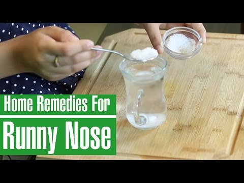 3 best natural home remedies to stop runny nose