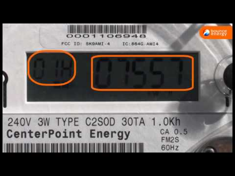 How to read your texas electricity meter