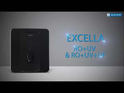 Blue star water purifiers - excella ro uv / ro uv uf - product film