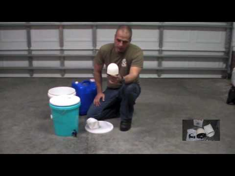 Emergency / survival water purification