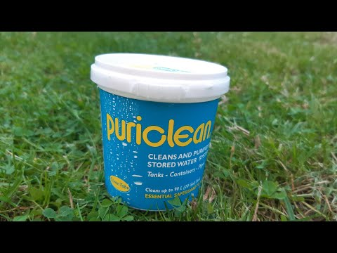 Puriclean water tank & pipe cleaner for your caravan or motorhome #shorts