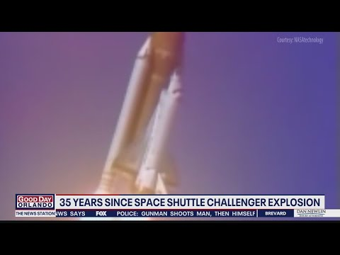 35 years since space shuttle challenger explosion