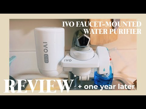 [review 1 year later] ivo faucet-mounted water purifier