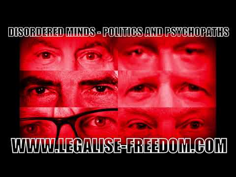 Ian hughes - disordered minds: politics and psychopaths