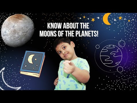 How many moons does each planet have?| solar system | planet and moons |