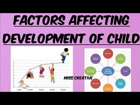 Factors affecting development of child   factors influencing child development   psychology   b.ed  