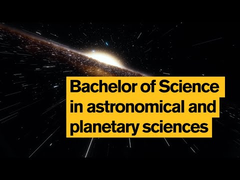 Why earn an astronomy degree?