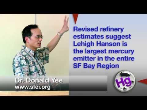 Mercury measurements: lehigh cement plant, san francisco bay area
