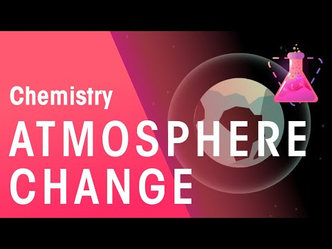 How has the atmosphere changed   environmental chemistry   chemistry   fuseschool