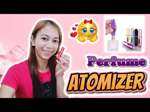 How to use an atomizer | cheap perfume atomizer