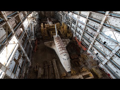 Journey to the abandoned soviet buran space shuttles
