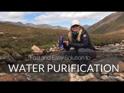 Water purification - how to use the steripen water filtration system