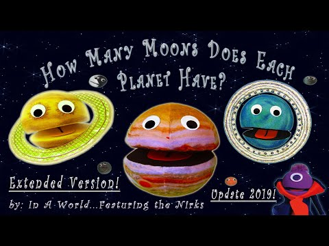 How many moons does each planet have?/meet the moons-update 2019/extended-with pluto/song for kids