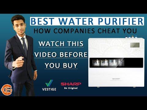 Vestige sharp water purifier full info in hindi | best water purifier ?