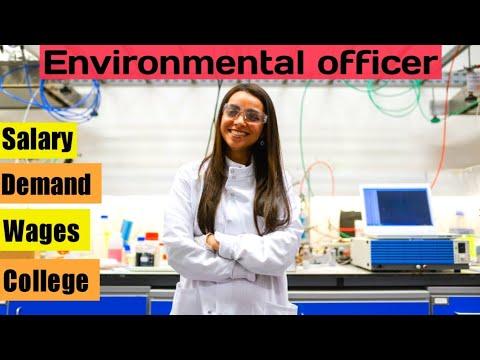 Environmental officer in canada - demand salary college jobs environmental studies technician