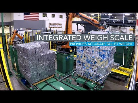 Robotic bale palletizing, aluminum - bw integrated systems