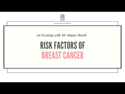 Risk factors of breast cancer - an evening with mr simon marsh