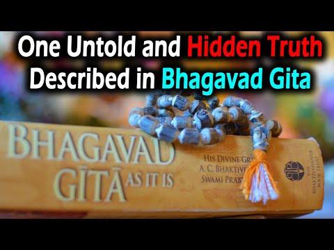 One untold and hidden truth described in bhagavad gita | best motivational video