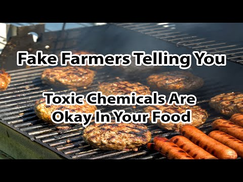 Fake farmers telling you toxic chemicals are okay in your food - by author stacy malkan