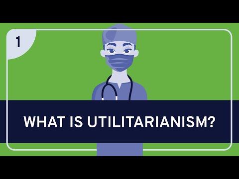 Philosophy - ethics: utilitarianism, part 1 [hd]